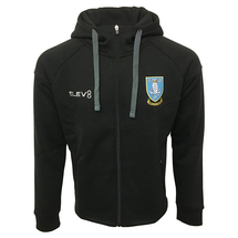19/20 JNR Full Zip Hoody Black