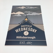 The South Stand A5 Print