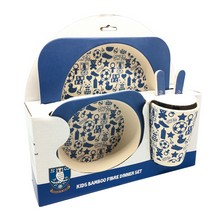 Bamboo 5 Piece Jnr Dinner Set