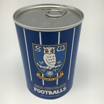 Milk Choc Footballs in a tin