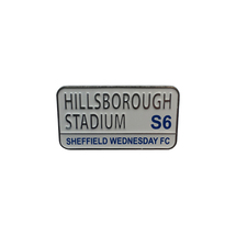 Hillsborough Street Sign Badge