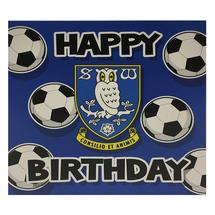 Footballs Birthday Card
