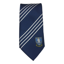Striped Polyester Tie