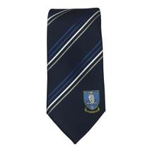 Multi-Striped Polyester Tie