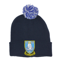 Plain Bobble Hat - Navy
