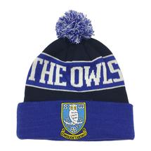 Jacquard Bobble Hat OWLS