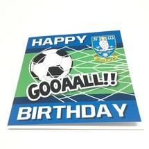 Goal Birthday Card Blue