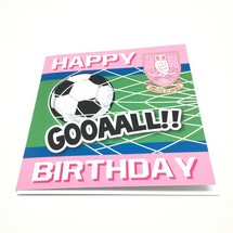 Goal Birthday Card Pink