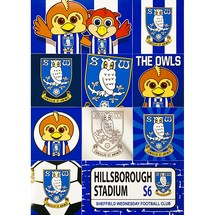 SWFC A4 Sticker Set