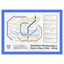 The Owls 30 Year Metro Map