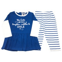 Owls Dress and Legging Set