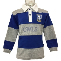 Owls Long Sleeve Polo Junior