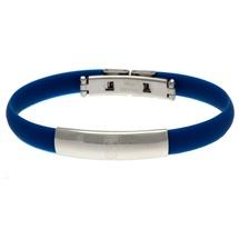 Blue Rubber Crest Bracelet