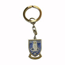 Crest Key Ring Double Sided