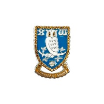 Crest Brooch Diamanti Large