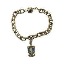 Crest Pendant Bracelet