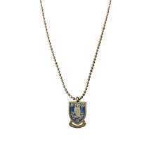 Crest Pendant Necklace