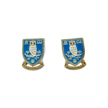 Crest Stud Earrings