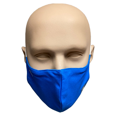 Blue SWFC/Small Logo Face Covering