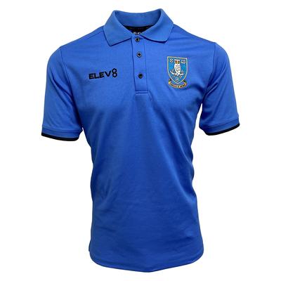 2021 Junior Polo Shirt Blue