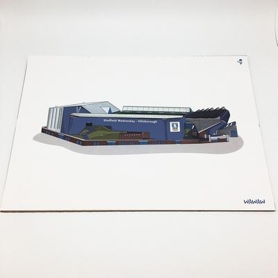 Hillsborough A3 Print