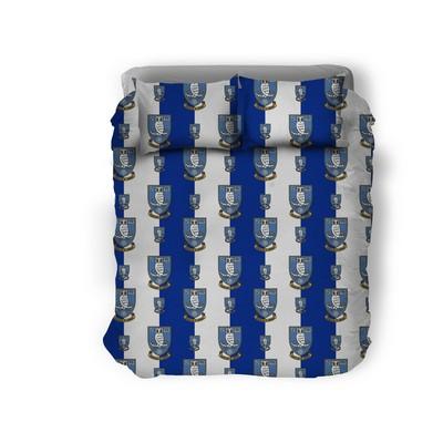 Double Duvet Set Stripes/Logo