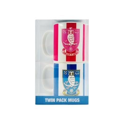 SWFC Twin Pack Mugs