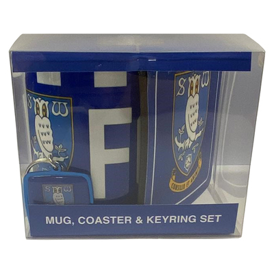 Mug Coaster Keyring Set 2020