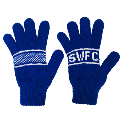 Kids Jacquard SWFC Gloves