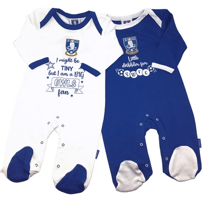 Owls Fan 2 Pack Sleepsuit