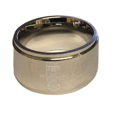 Crest Band Ring