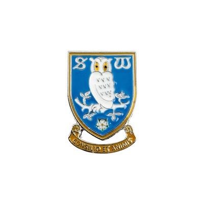 Crest Brooch Large