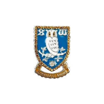 Crest Brooch Diamanti Large